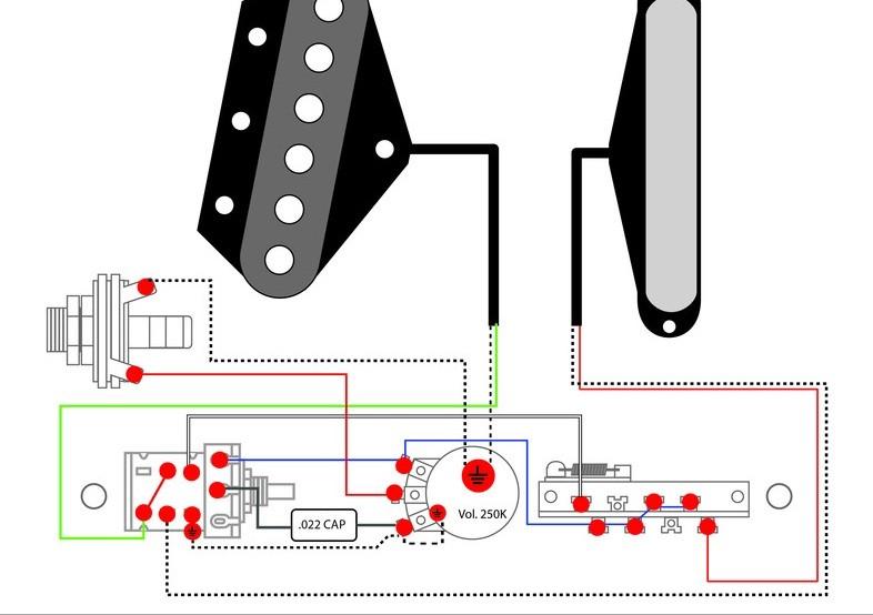 Tdpri Typical Tele Wiring Guitar Mod Standard Tele Wiring Diagram