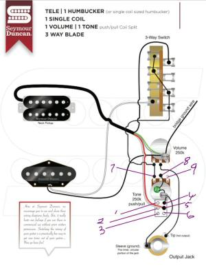 Wiring help for Neck Humbucker, Single coil Bridge , Phase options please | Telecaster Guitar Forum