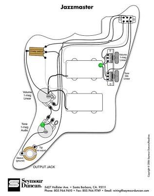 Fender Bass Vi Wiring Diagram Buzzing Jazzmaster Pickups Telecaster Guitar Forum