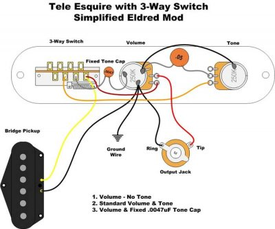 4 way switch wiring diagram telecaster nordyne furnace understanding esquire guitar forum esquire3 wayeldred2 jpg