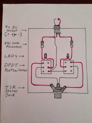 Need Help: Fender style twobutton footswitch for Allen Amp | Telecaster Guitar Forum