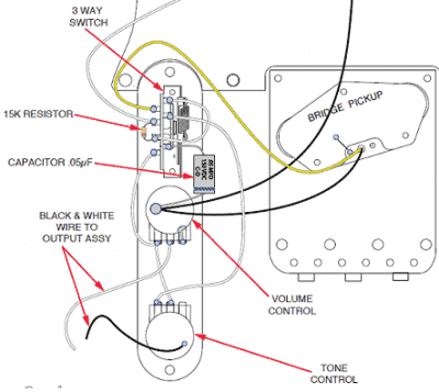 Fender 52 Tele Wiring Diagram
