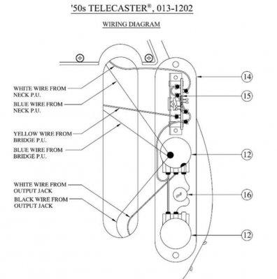 Fender Telecaster American 50'S Wiring Diagram