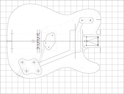 Need a '72 Telecaster Custom routing template