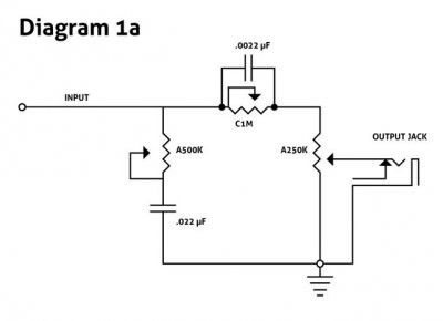 Trying out a PTB tone circuit. Need some help