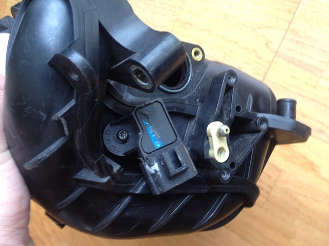 How to unplug your MAP sensor.