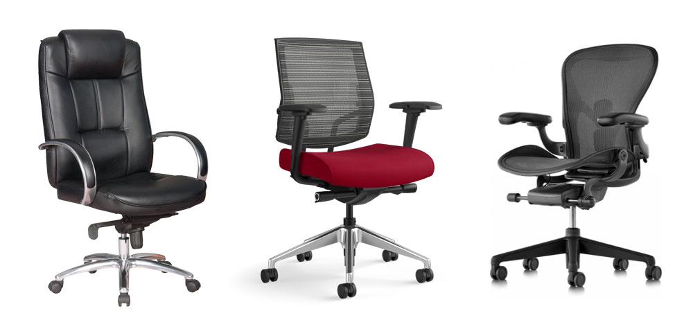 ergonomic chair types cushion for best office 2019 and computer chairs top picks herman miller on white background