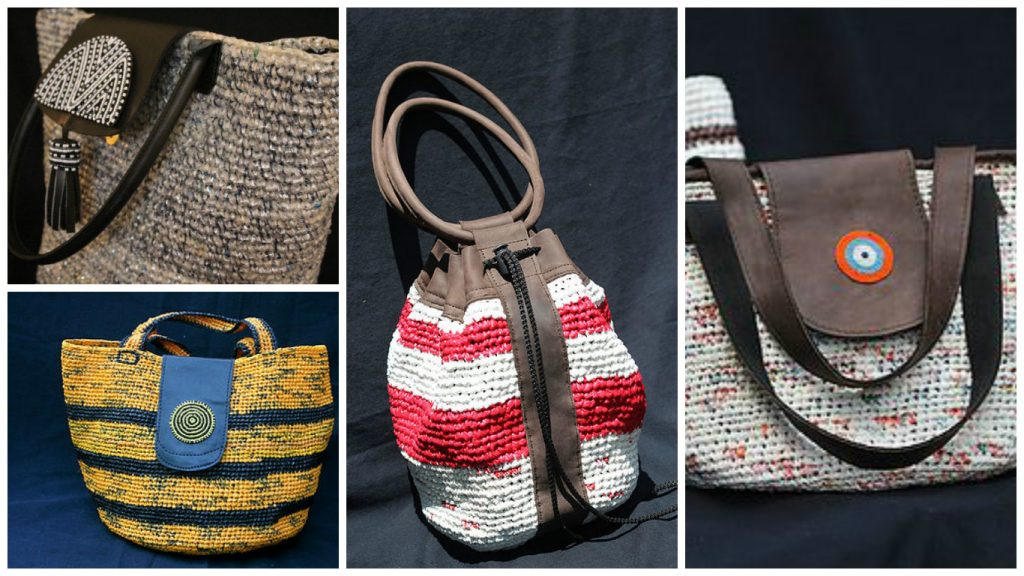 """Recycled Treasures Eco - Fashionable Collection"" [Images: Courtesy of Tosheka Textiles]"