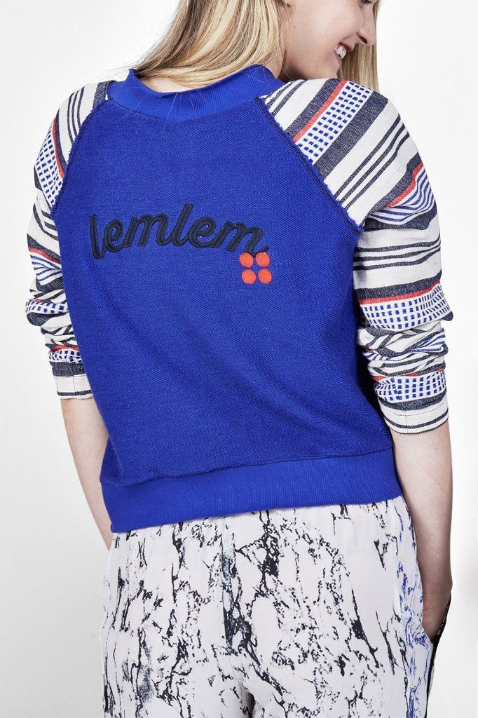 Meron Embroidered Sweatshirt [Image: Courtesy of lemlem]