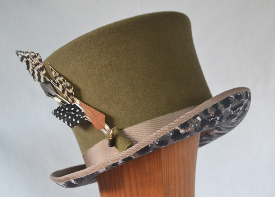 Out of Africa Top Hat [Image: Courtesy of Drop of a Hat]