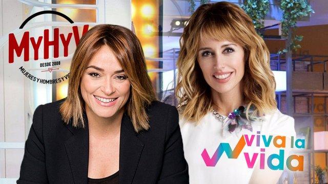Emma García y Toñi Moreno se intercambian los puestos de trabajo