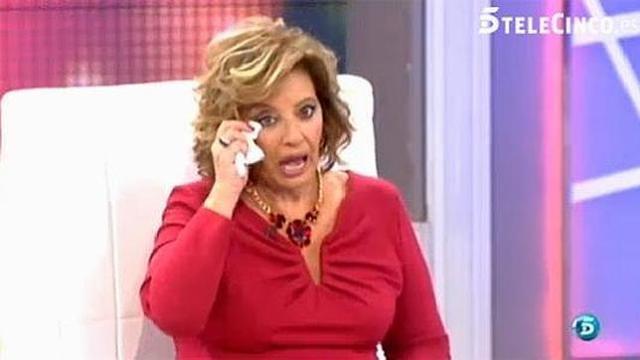 María Teresa Campos en números rojos