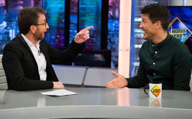 La confesión sexual de Jaime Cantizano en 'El Hormiguero'