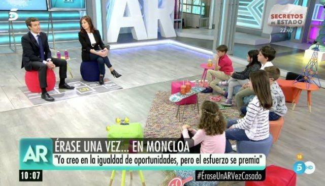 El caso de Expediente X en El programa de Ana Rosa con Pablo Casado