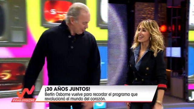 Emma García y Bertín Osborne desmienten los rumores de enfrentamiento