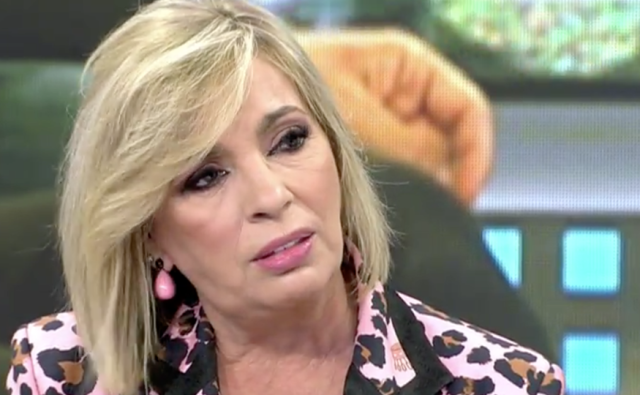 Carmen Borrego muy afectada tras la entrevista de María Teresa Campos