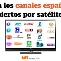¿Los canales españoles por satélite son abiertos ?