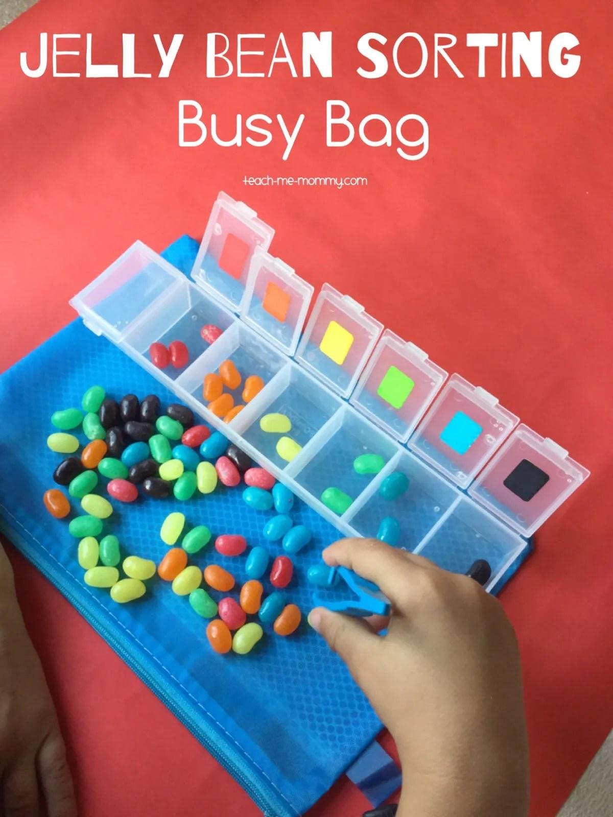 Jelly Beans Busy Bag Teach Me Mommy
