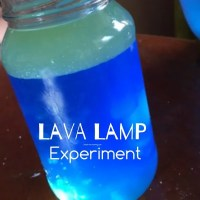 DIY Lava Lamp Experiment - Teach Me Mommy