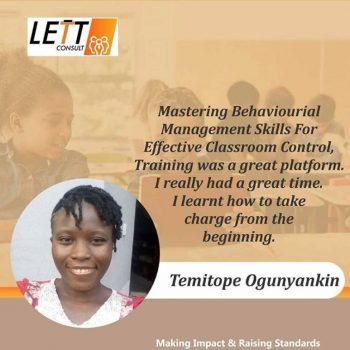 Teach2Endue Testimonial