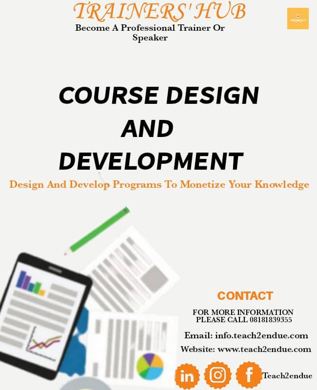 course design & development