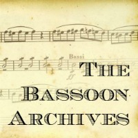 The Bassoon Archives
