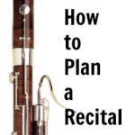 How to plan a recital