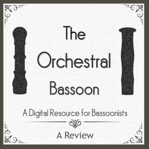 Bassoon excerpts, recordings, fingerings... all for free.