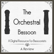 orchestralbassoon.com - A Review