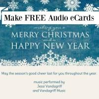 eCards with Custom Audio Tracks