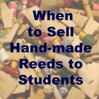 Selling Reeds to Students
