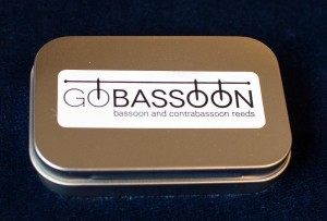 GoBassoon Reed Case