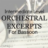 Intermediate Level Orchestral Excerpts