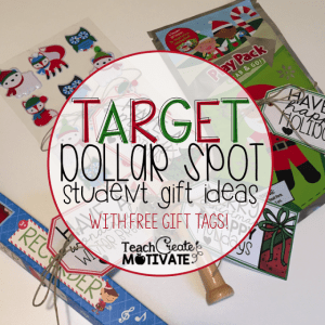 $1 Holiday Student Gifts with FREE tags!