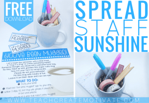 You've Been Mugged! {Spread Staff Sunshine!}