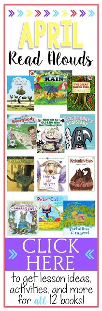 April read alouds perfect for your classroom!
