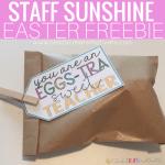 """EGG""stra Sweet Teachers: Staff Sunshine!"