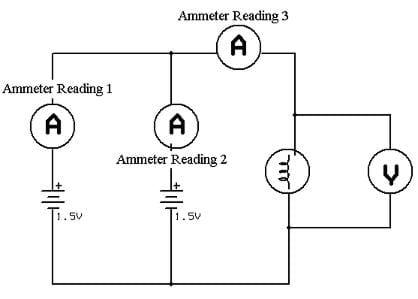 Three Parallel Circuit Diagram Bulbs, Three, Free Engine