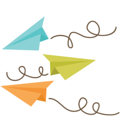 Paper Airplane Diagram Of Parts 1998 Honda Civic Engine Airplanes Building Testing Improving Heads Up An Image Shows Three Cartoon Flying In The Air