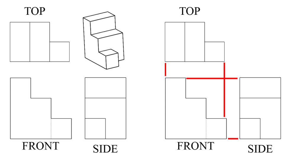 medium resolution of Seeing All Sides: Orthographic Drawing - Activity - TeachEngineering