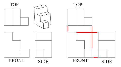 small resolution of Seeing All Sides: Orthographic Drawing - Activity - TeachEngineering