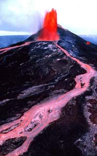 inside volcano diagram vent simple heart volcanic panic lesson teachengineering photo of red lava spewing out a and flowing down its slope