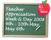 Teacher appreciation day graphic