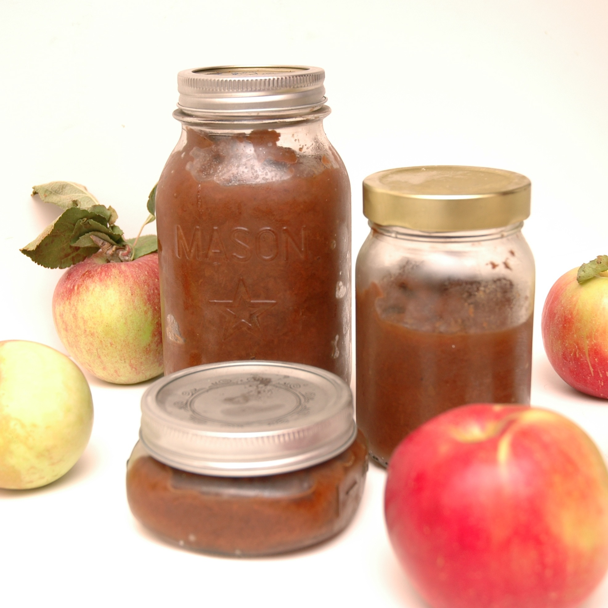 crockpot apple butter with applesauce