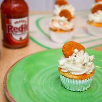 Hot Wing Cupcakes