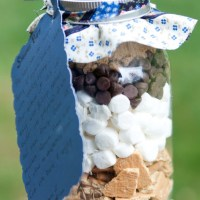 S'mores Bars in a Jar