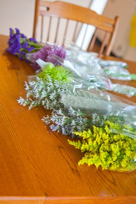 Sample Wedding Flower Bouquets from SR-4727