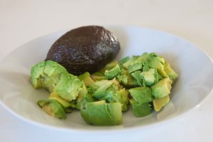 Bowl of hass avocado