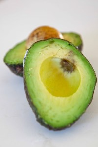 cut hass avocado