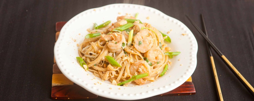 better than takeout made at home pad thai